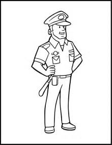 officer coloring pages color pages coloring home