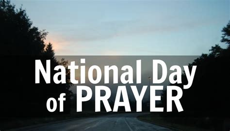 is today national day today is the national day of prayer scripture and p