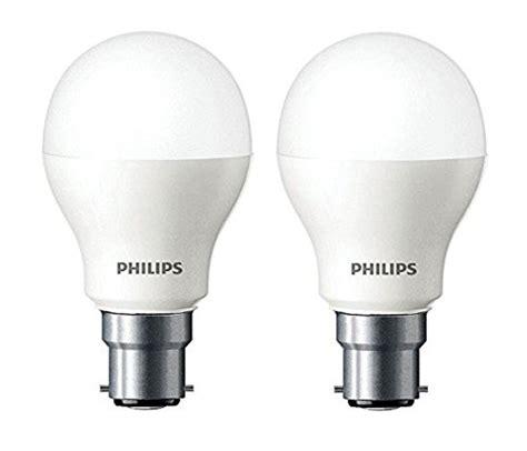 Philips Led Light Bulbs Review Philips Base B22 7 Watt Led Bulb Cool Day Light Pack Of 2 My Best Review