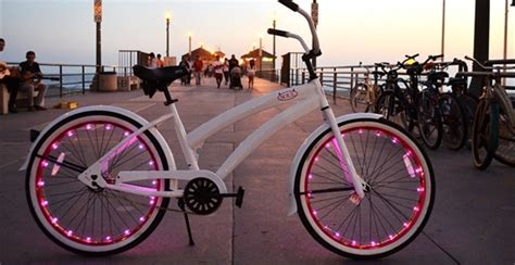 lights on wheels of a bicycle groovy led bicycle wheel lights jane