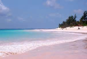Beaches With Pink Sand Bahamas Pink Sand Beach Harbour Island Travel4foods