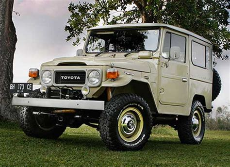 Fj40 Modifikasi by Modifikasi Toyota Land Cruiser Fj40 1980 Priyayi Kerah Biru