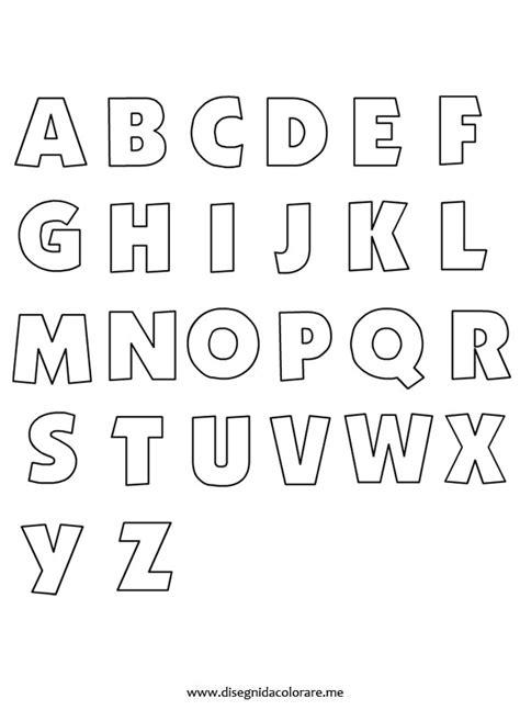 disegnare con le lettere lettere alfabeto disegni da colorare