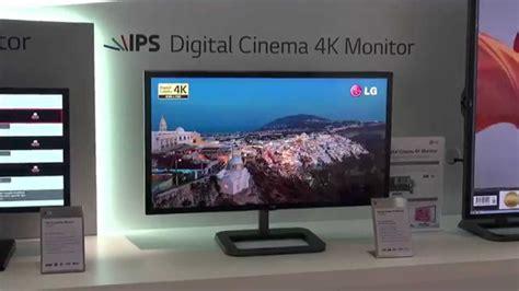 ifa 2014 lg cinema 4k monitor 31mu97 youtube