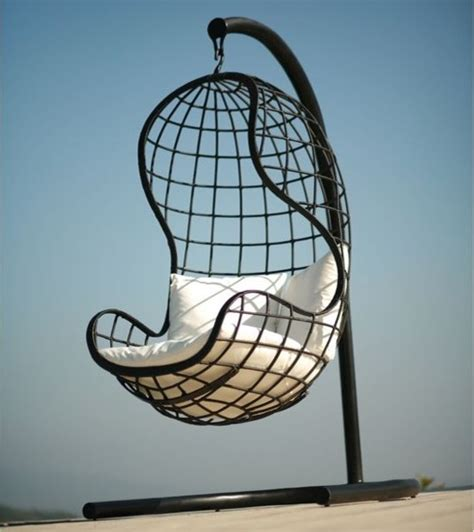 Patio Hanging Chair Neoteric Dayang Modern Outdoor Wicker Hanging Chair Contemporary Hammocks And Swing Chairs