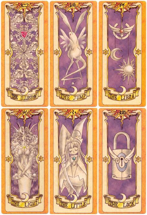 Clow Card Photoshop Template by Anime Clow Cards Card Captor Clow Cartas