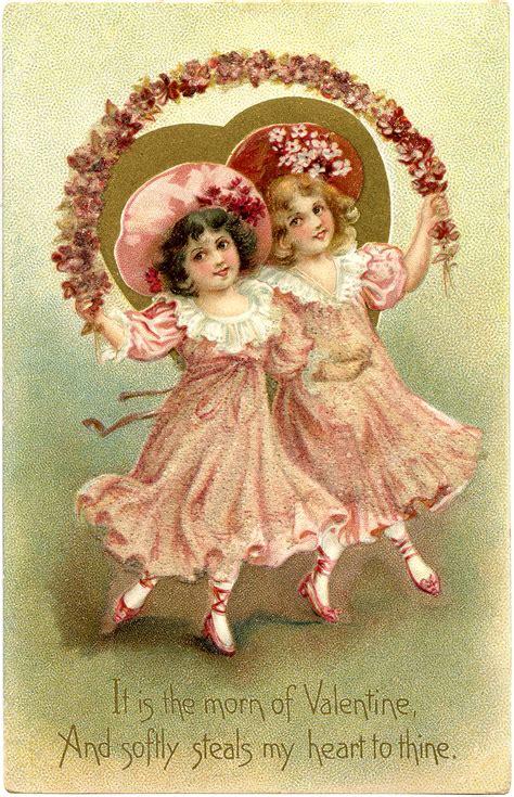valentines vintage free vintage image the graphics