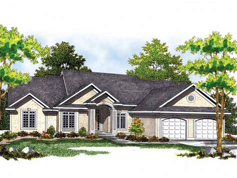 3 bedroom ranch house home plan homepw01427 2224 square foot 3 bedroom 2