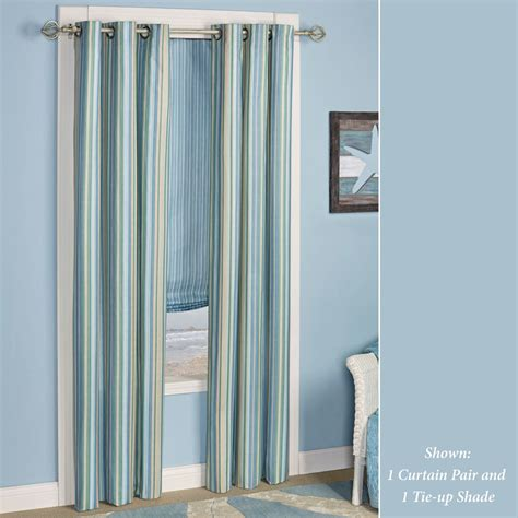 coastal drapes clearwater coastal striped comforter bedding