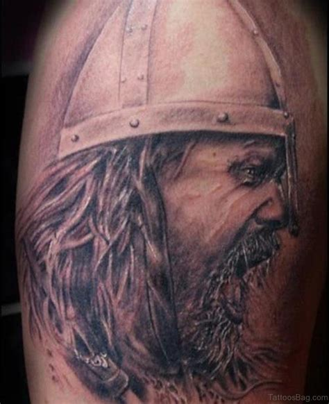 57 magnifying viking tribal shoulder tattoos