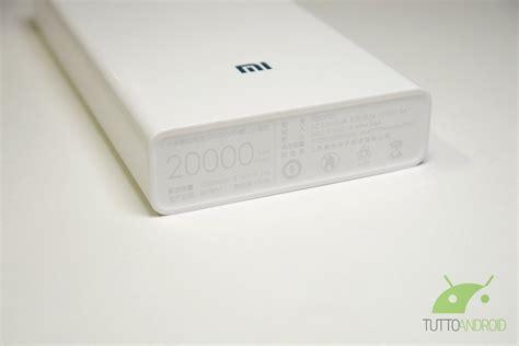 Power Bank Xiaomi 20000mah Berkualitas recensione power bank xiaomi 20000mah tuttoandroid