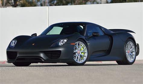 Porsche 918 Fuel Economy by Only Carbon Exposed Porsche 918 Spyder Weissach In The U S
