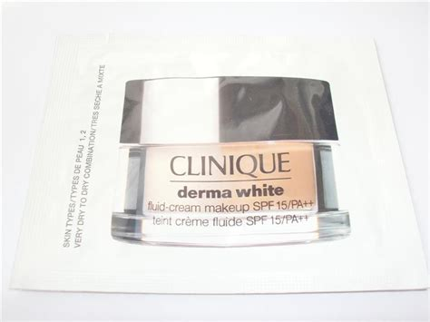 Clinique Derma White รองพ นผ วแห ง clinique derma white fluid makeup