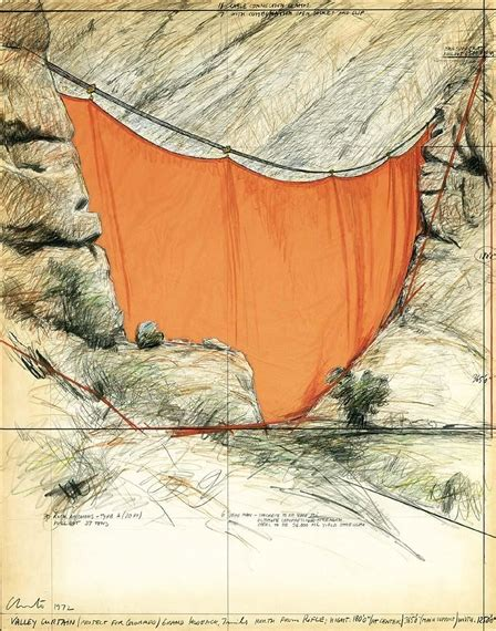 christo and jeanne claude valley curtain christo jeanne claude valley curtain