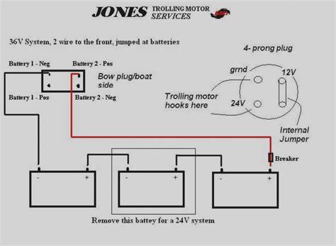 12 volt trolling motor battery wiring diagram wiring diagram