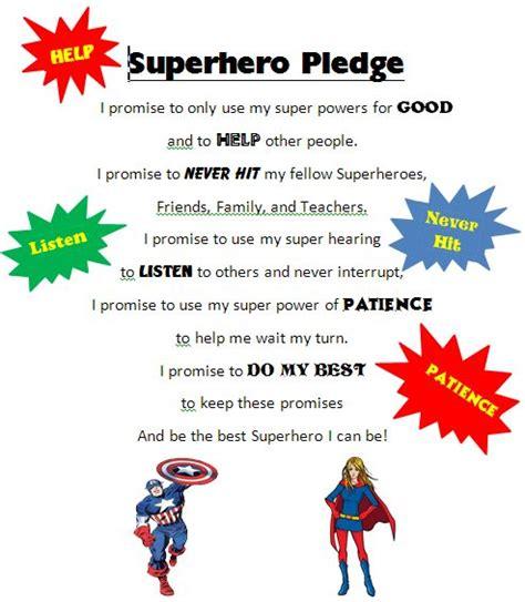 theme songs superhero superhero pledge superhero fun pinterest superhero