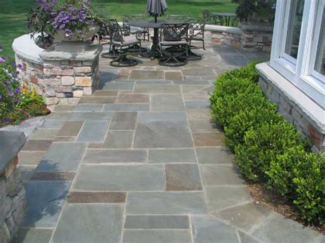 Cut Flagstone Patio by And Concrete Paver Walkways Rssy