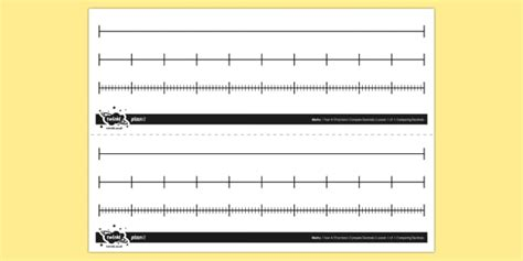 create your own printable number line mixed blank number lines number line fractions decimals