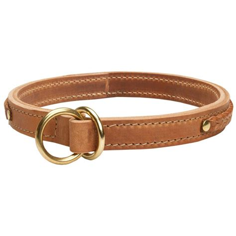 puppy choke collar gorgeous 2 ply leather choke collar collar info
