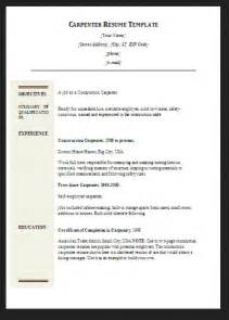 carpenter resume template resumes design 10 carpenter resume templates free pdf sles