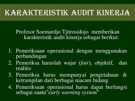 Pemeriksaan Kinerja Performance Auditing presentasi audit kinerja