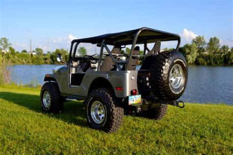 custom kaiser jeep sell used 1971 kaiser jeep cj5 full restoration custom