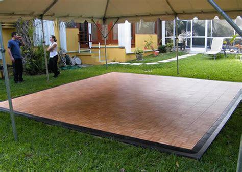 Rent A Floor by Staging Floor Rentals Outdoor Flooring Grimes