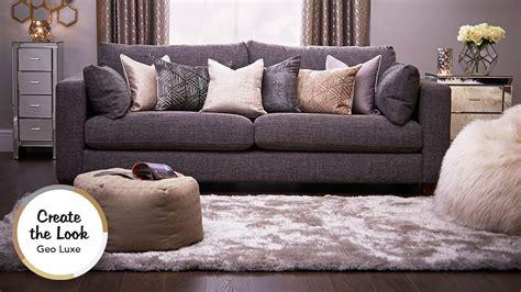 luxe living geo luxe living room youtube