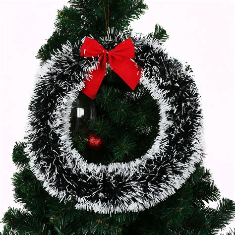 festive 35cm christmas xmas tree decorative wreath hanging