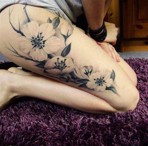 tattoo flower woman leg leg tattoos and designs page 33