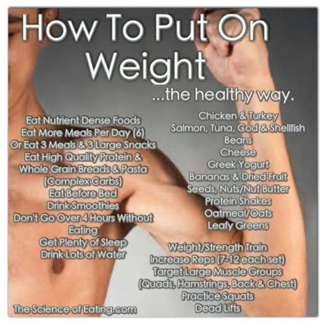 how to put weight on a how to put on weight health tips with food