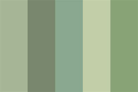 buy palette of nature color green nature color palette