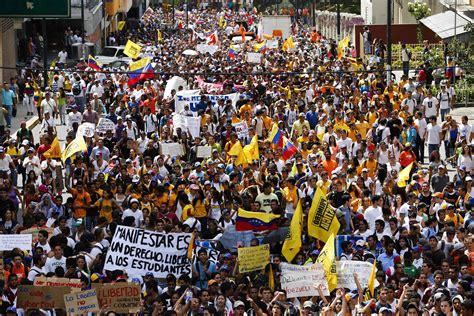 imagenes de protestas en venezuela hoy estudiantes convocan gran marcha para el domingo runrun es