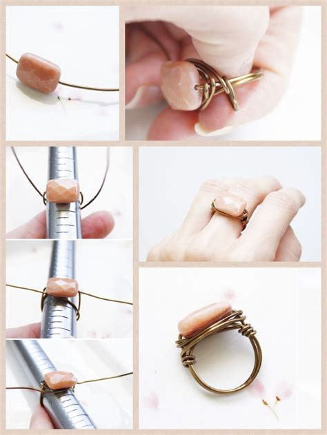 how to make diy jewelry best 25 diy rings ideas on