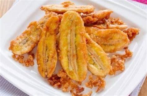 teks prosedur membuat goreng pisang tips anti gagal membuat pisang goreng renyah dan bikin