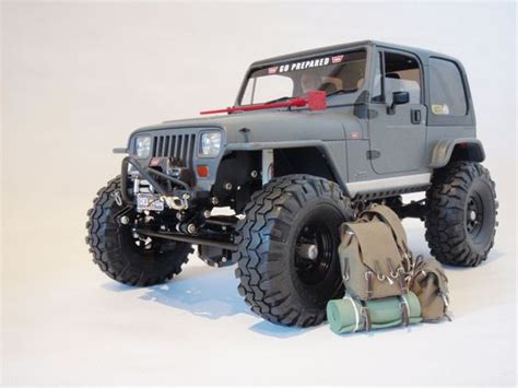 Rc Jeep Scale Jeep Crawler 1 10 Matte Finish Hobby Rc
