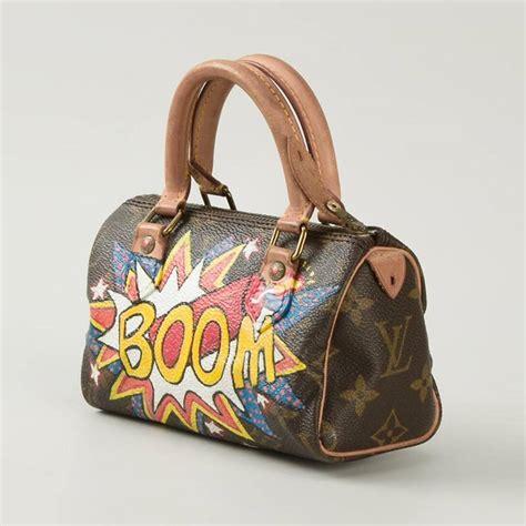 Lv Mini Bag S painted vintage louis vuitton leather monogram mini