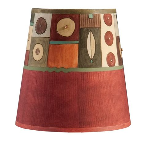 small drum l shade small drum l shade in lucky mosaic maroon ugone