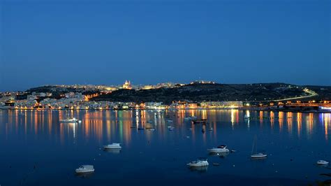 mellieha bay night hd wallpaper kevin millican flickr