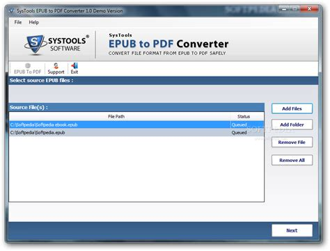 epub format software download systools epub to pdf converter download