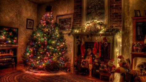 home design for christmas ёлка в доме обои на рабочий стол новогодний уют у камина