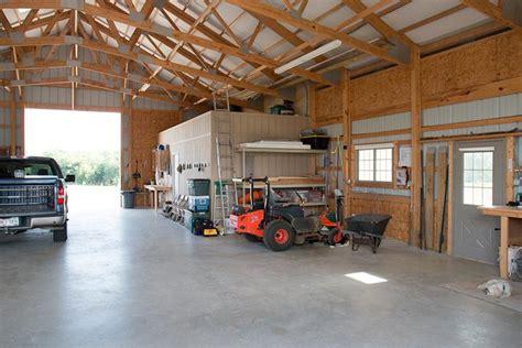 video metal building garage  living quarters hq video
