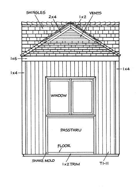 gable barn plans gable shed plans freeshed plans shed plans