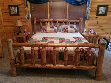 log cabin bed frame log cabin bed frame home