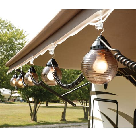 patio awning lights 6 bronze globe lights with 30 cord direcsource ltd d07