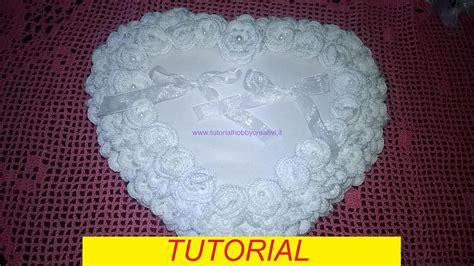 come fare un cuscino portafedi tutorial per realizzare un cuscino portafedi con roselline