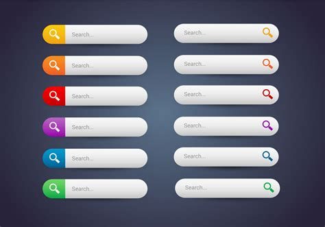 web free free web buttons set 10 vector free vector