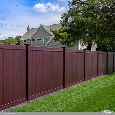 privacy fences awesome illusions pvc vinyl fence ideas and images illusions vinyl fence