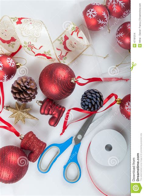 christmas tree preparation tree decorated preparation stock photo image 47181214