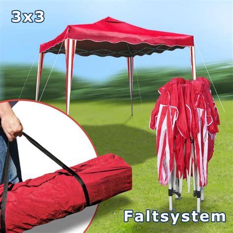 Faltpavillon 3x3 Wasserdicht by Faltpavillon 3x3 Partyzelt Metall Garten Pavillon